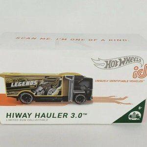 Hot Wheels ID Hiway Hauler 3.0 Premium NEW